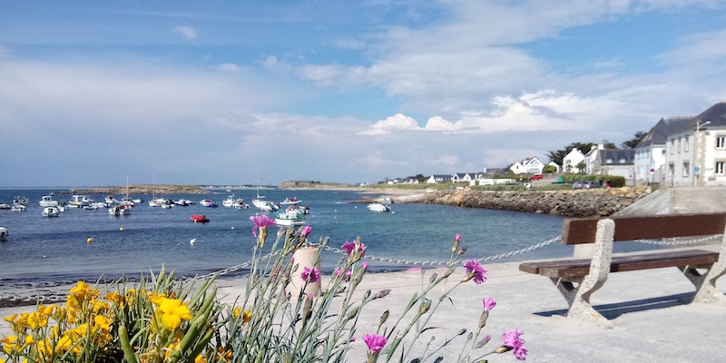 Portivy, seul port sur la côte sauvage