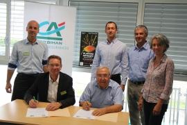 Crédit Agricole du Morbihan partenaire d