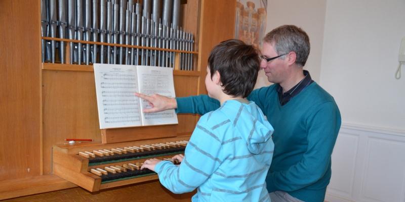 Cours d'orgue